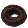 Bravehead Synthetic Hair Bun Large Brown