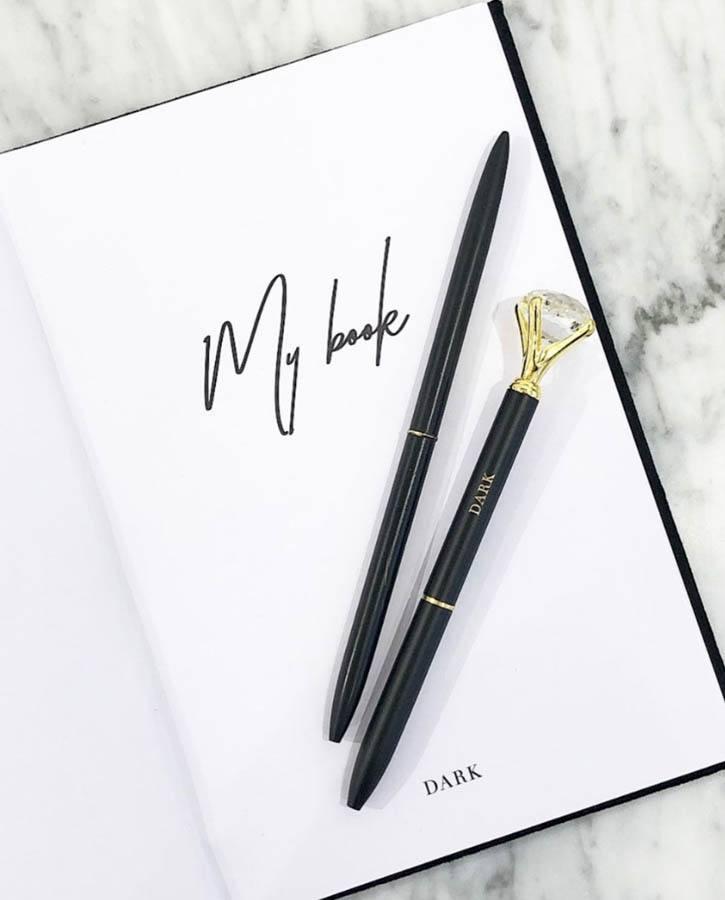 DARK Diamond Pen Matte Black