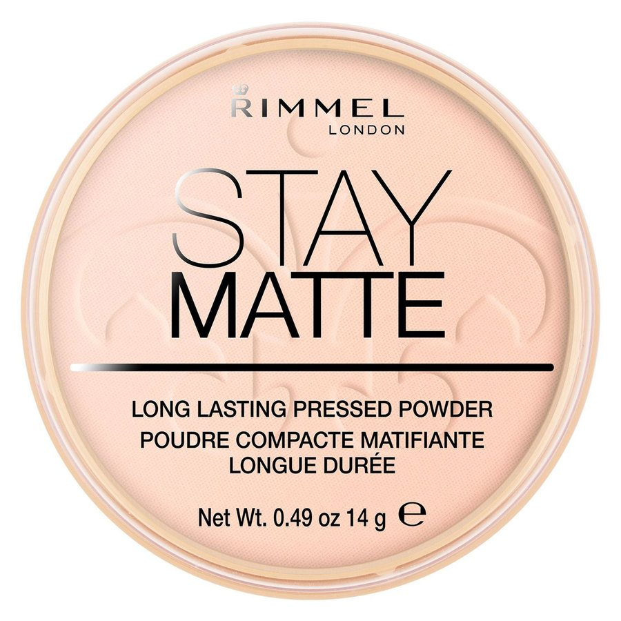Rimmel London Stay Matte Pressed Face Powder #002 Pink Blossom 14 g