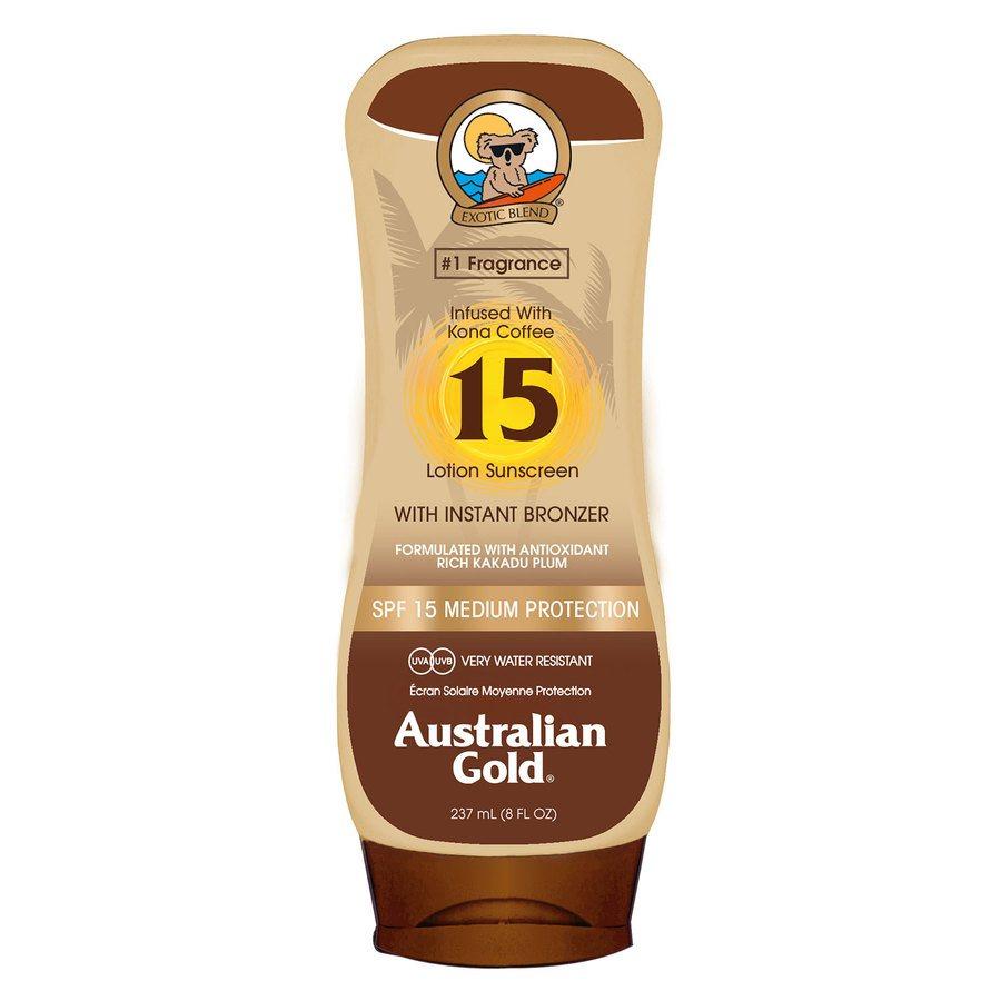 Australian Gold SPF 15 Lotion Bronzer 237 ml