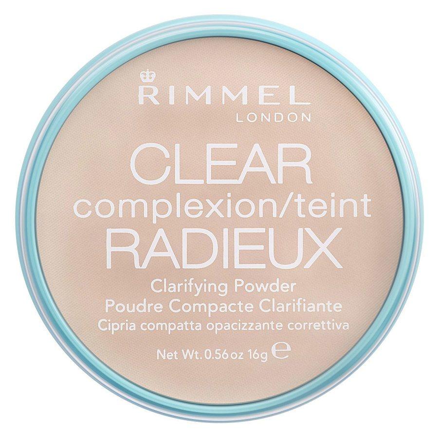 Rimmel London Clear Complexion Clarifying Powder Transparent 16 g
