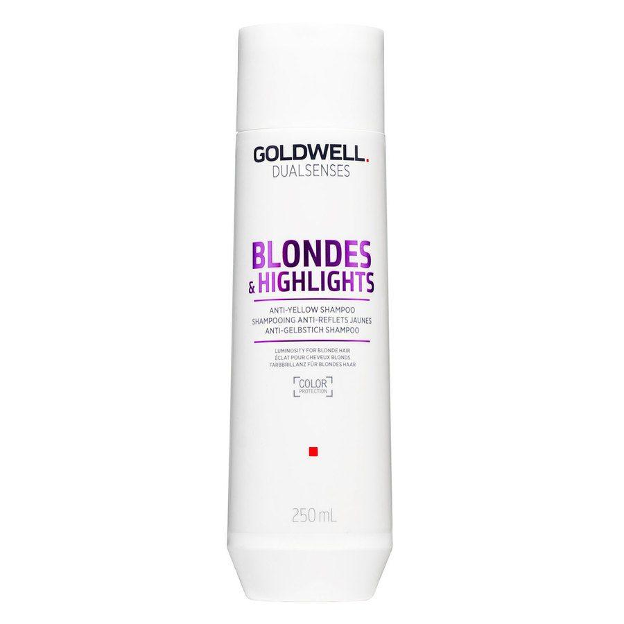Goldwell Dualsenses Blondes & Highlights Anti-Yellow Shampoo 250ml