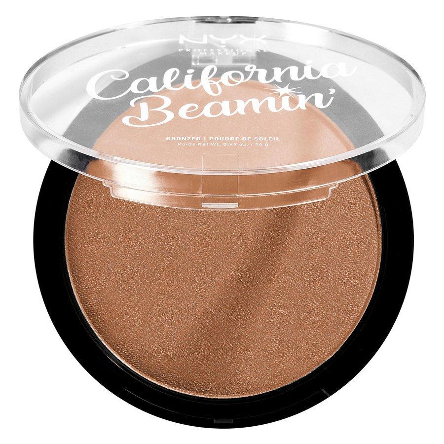 NYX Professional Makeup California Beamin' Face & Body Bronzer Sunset Vibes 14 g