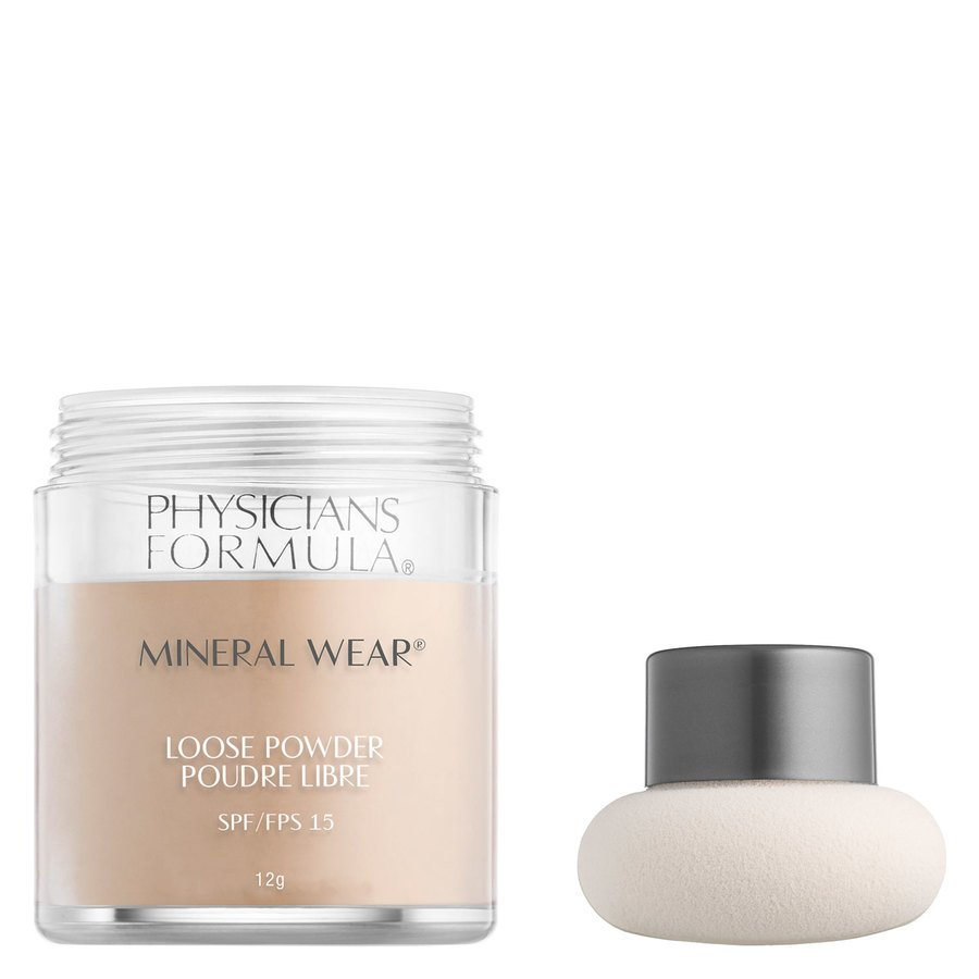 Physicians Formula Mineral Wear® Loose Powder SPF15 Translucent Light 12 g