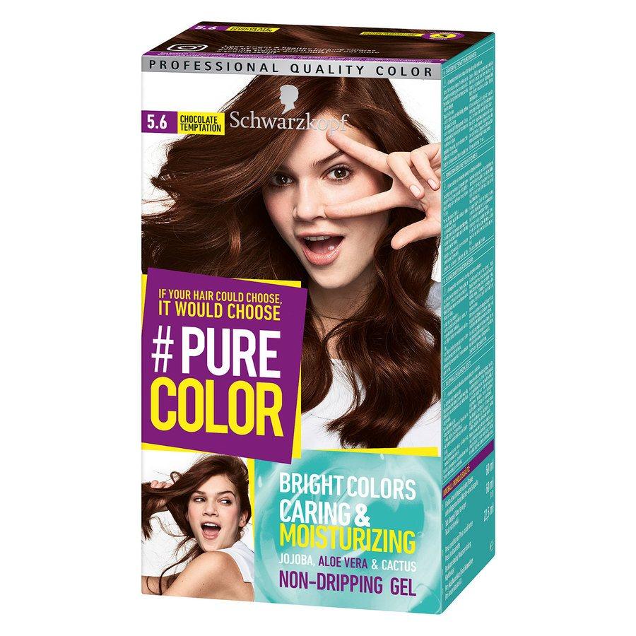 Schwarzkopf Pure Color 5.6 Chocolate Temptation 142 g