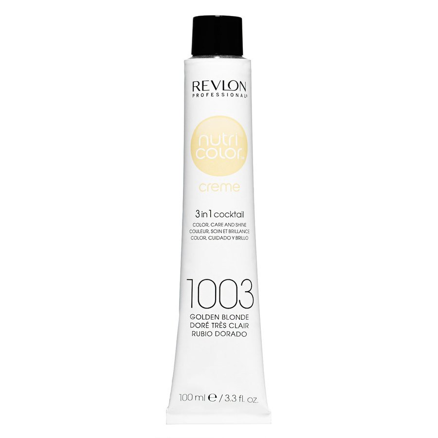 Revlon Professional Nutri Color Creme 100ml #1003 Pale Gold