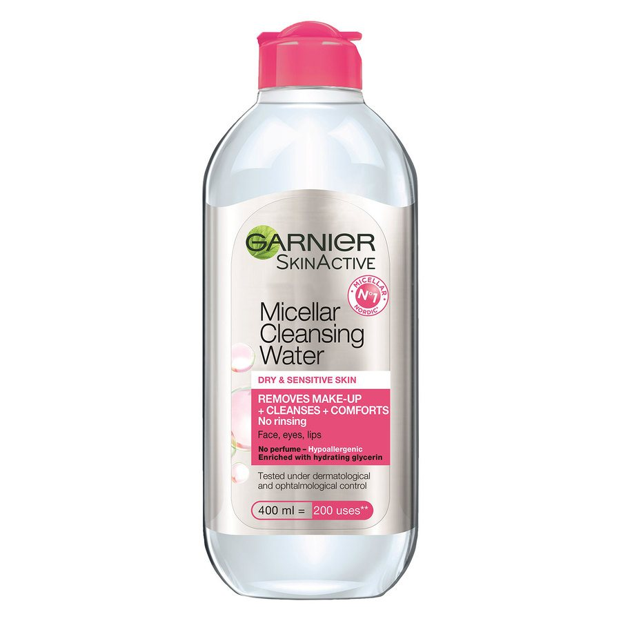 Garnier Micellar Cleansing Water Dry & Sensitive Skin 400ml