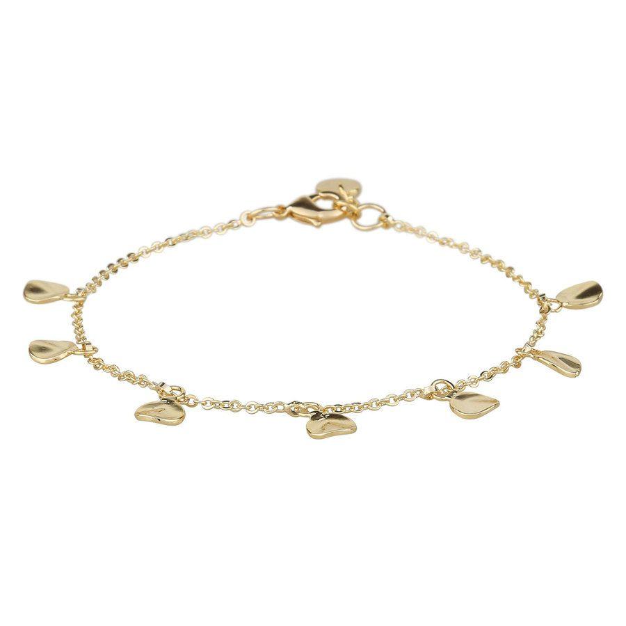Snö of Sweden Jain Charm Bracelet Plain 16–17 cm