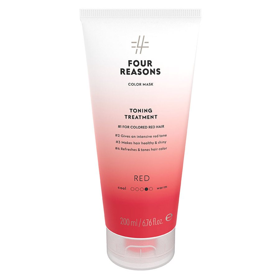 Four Reasons Color Mask Toning Treatment Red 200 ml