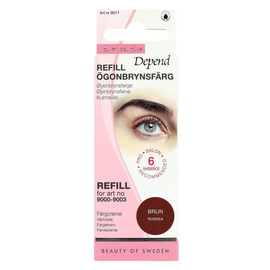 Depend Eyebrow Colour Refill Brown