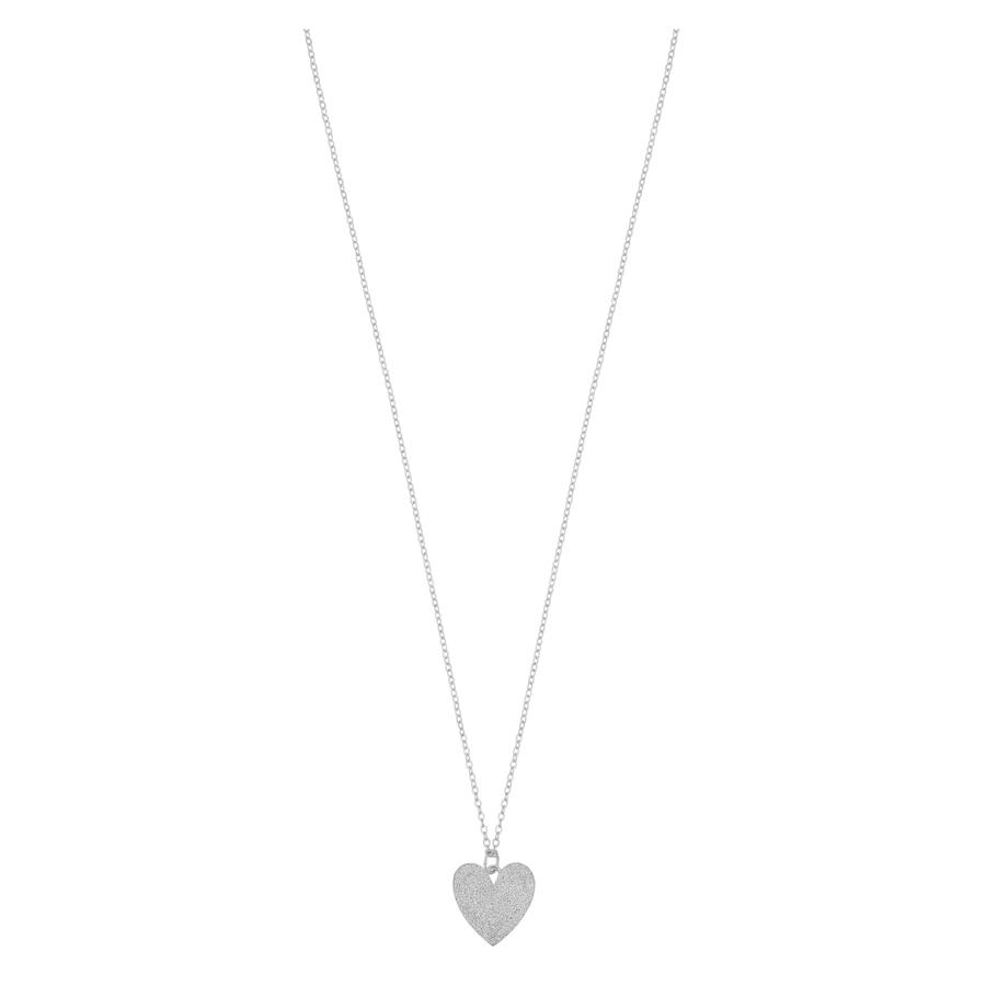 Snö of Sweden Mii Pendant Necklace 42 cm Plain Silver