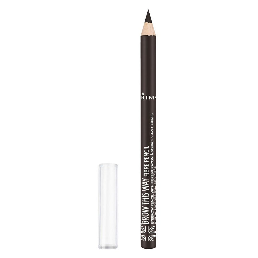 Rimmel London Brow This Way Fiber Pencil #003 Dark Brown 1 g