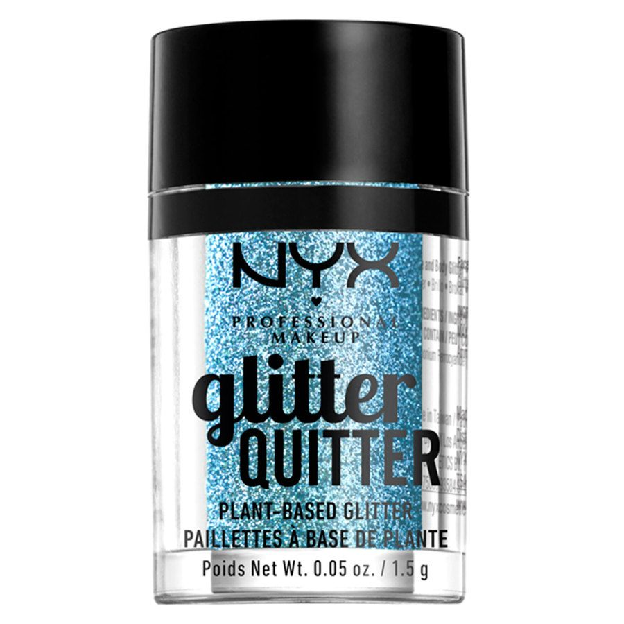 NYX Professional Makeup Glitter Quitter Plant Based Glitter Blue1,5 g