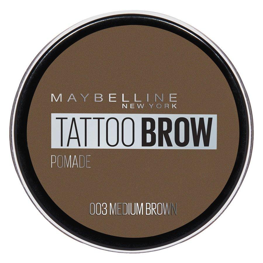 Maybelline Tattoo Brow Pomade Pot Medium Brown