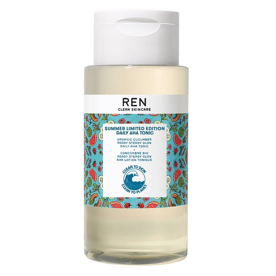 REN Clean Skincare Ready Steady Glow Daily AHA Tonic Limited Edition 250 ml