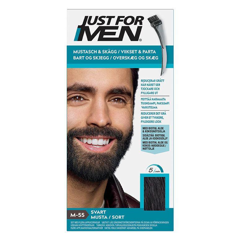 Just For Men Moustache & Beard Real Black 55 g