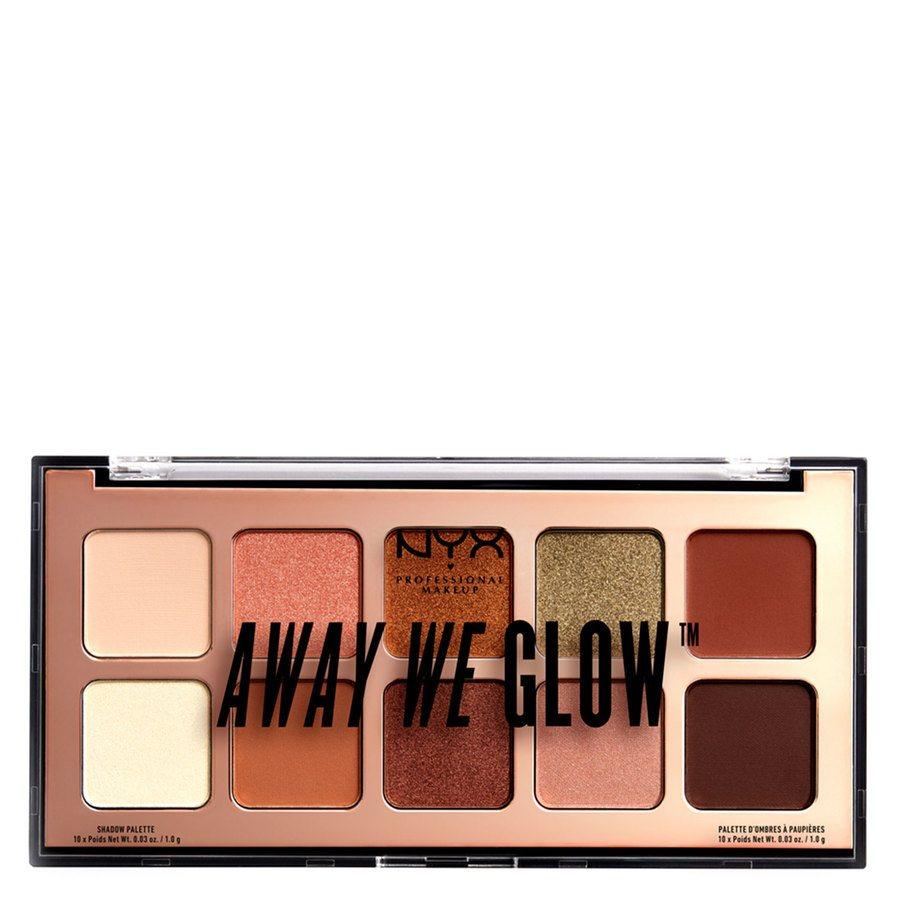 NYX Professional Makeup Away We Glow Shadow Shade 02 Hooked On Glow 10 x 1,0g