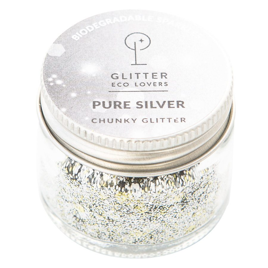 Glitter Eco Lover Pure Silver 15ml