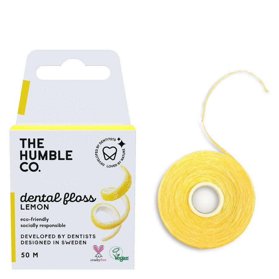 The Humble Co Dental Floss Lemon 50 m