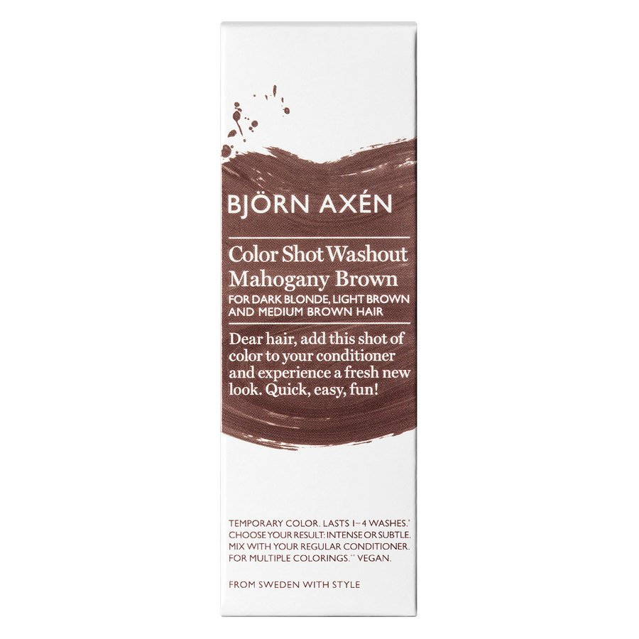 Björn Axén Color Shot Washout Golden Mahogany Brown 50 ml