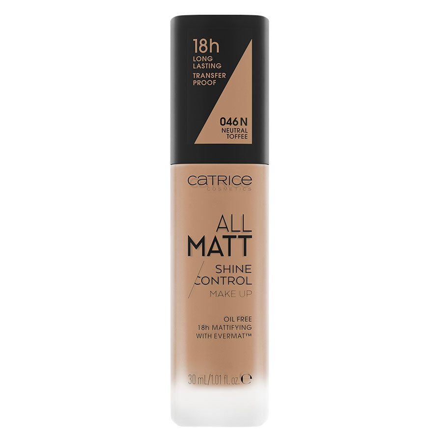 Catrice All Matt Shine Control Make Up 046 N Neutral Toffee 30 ml