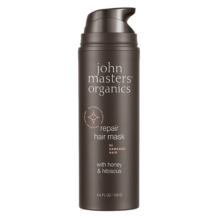 John Masters Organics Repair Hair Mask For Damaged Hair With Honey & Hibiscus 125 g