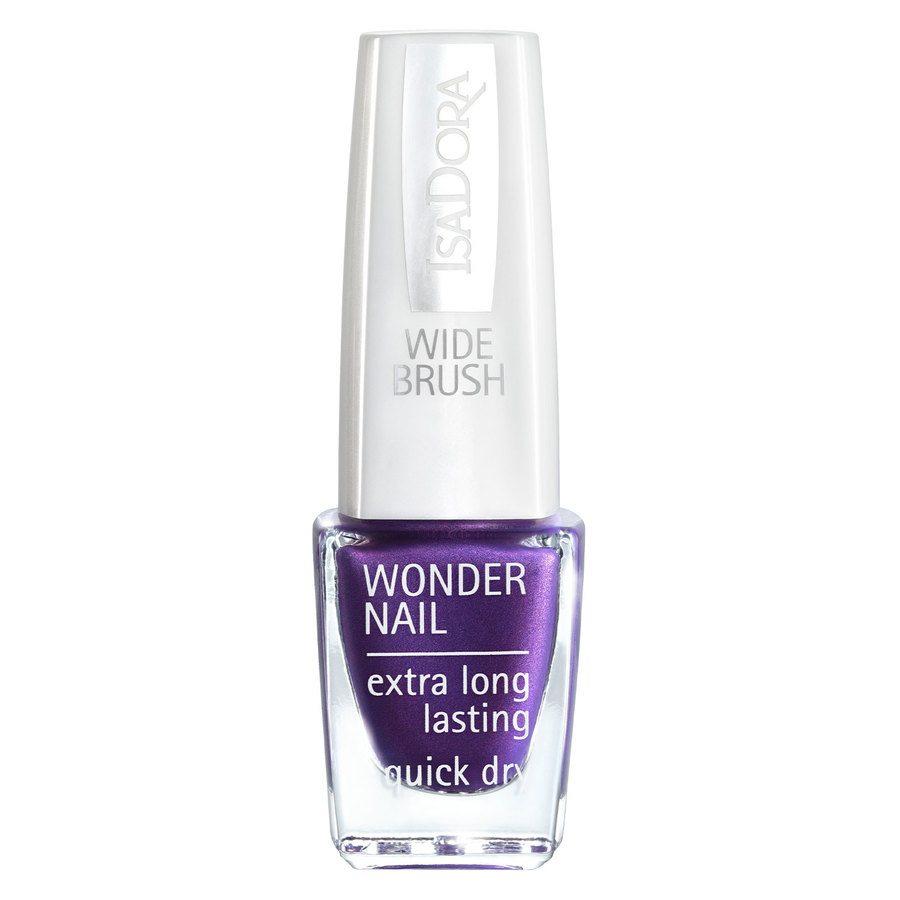 IsaDora Wonder Nail Wide Brush #568 Violet Vain 6ml
