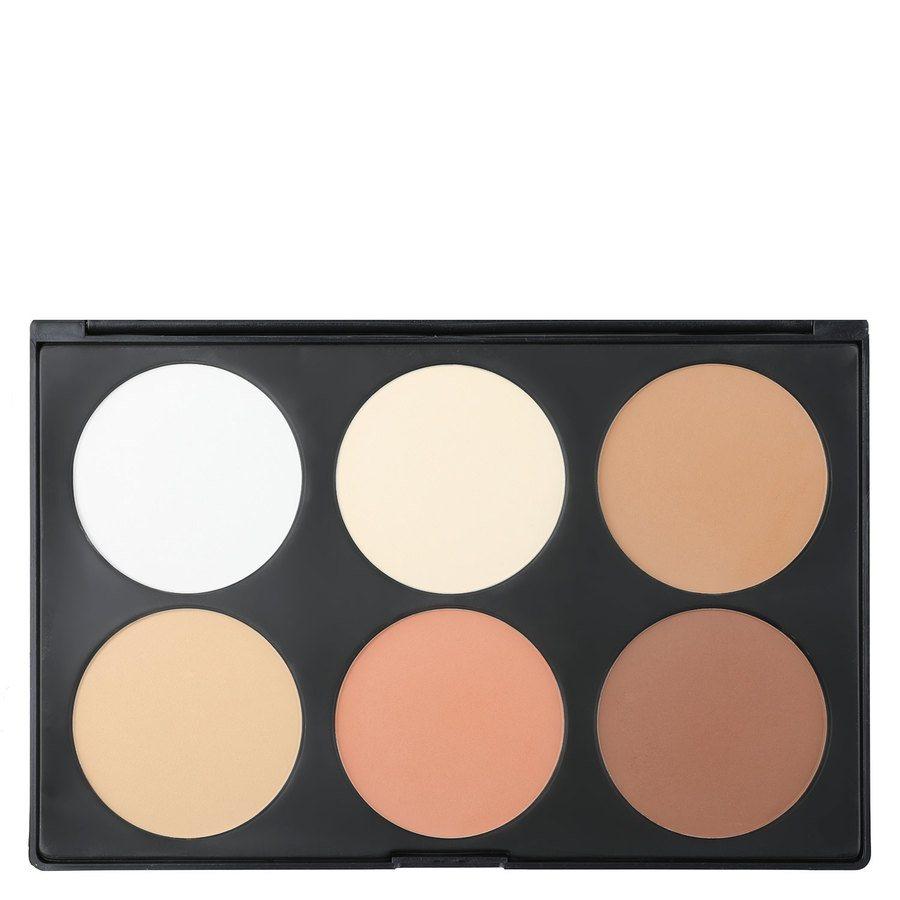 Smashit Cosmetics 6 Color Contour Powder Palette Light Skin Mix 1