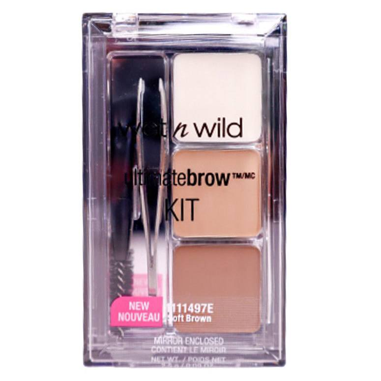 Wet 'n Wild Ultimate Brow Kit Soft Brown