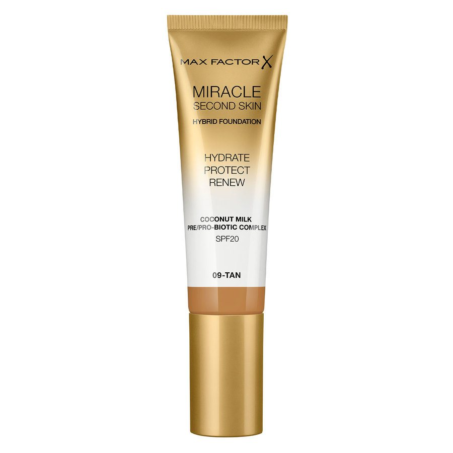 Max Factor Miracle Second Skin Foundation - #009 Tan 33ml