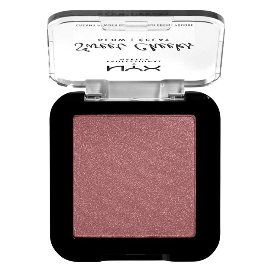 NYX Professional Makeup Sweet Cheeks Creamy Powder Blush Glowy Fig 5 g