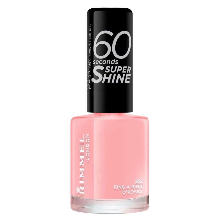 Rimmel London 60 Seconds Super Shine Nail Polish #262 Ring A Ring O'roses 8ml