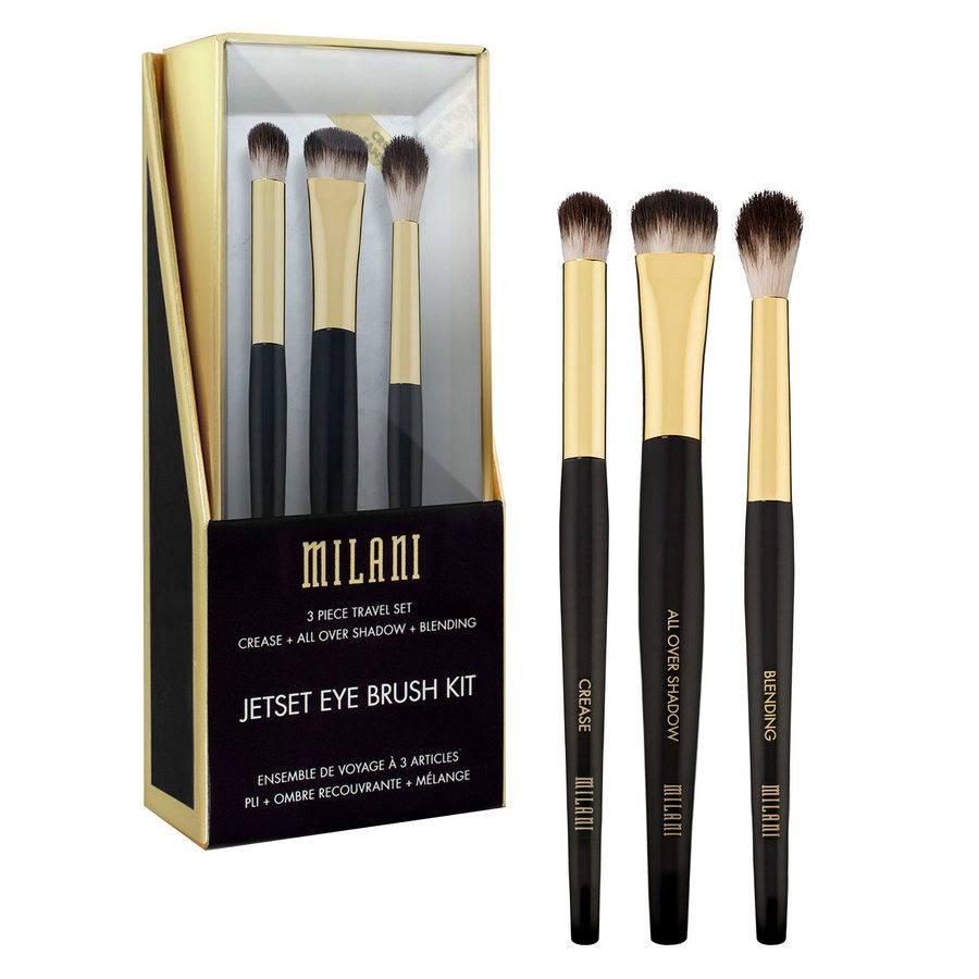Milani Jetset Eye Brush Kit 3 st