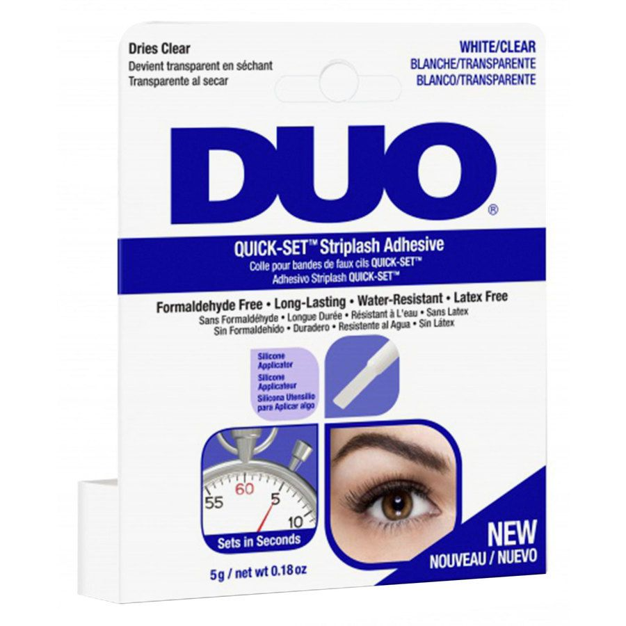 Duo Quick Set Adhesive Brush Clear 5 g