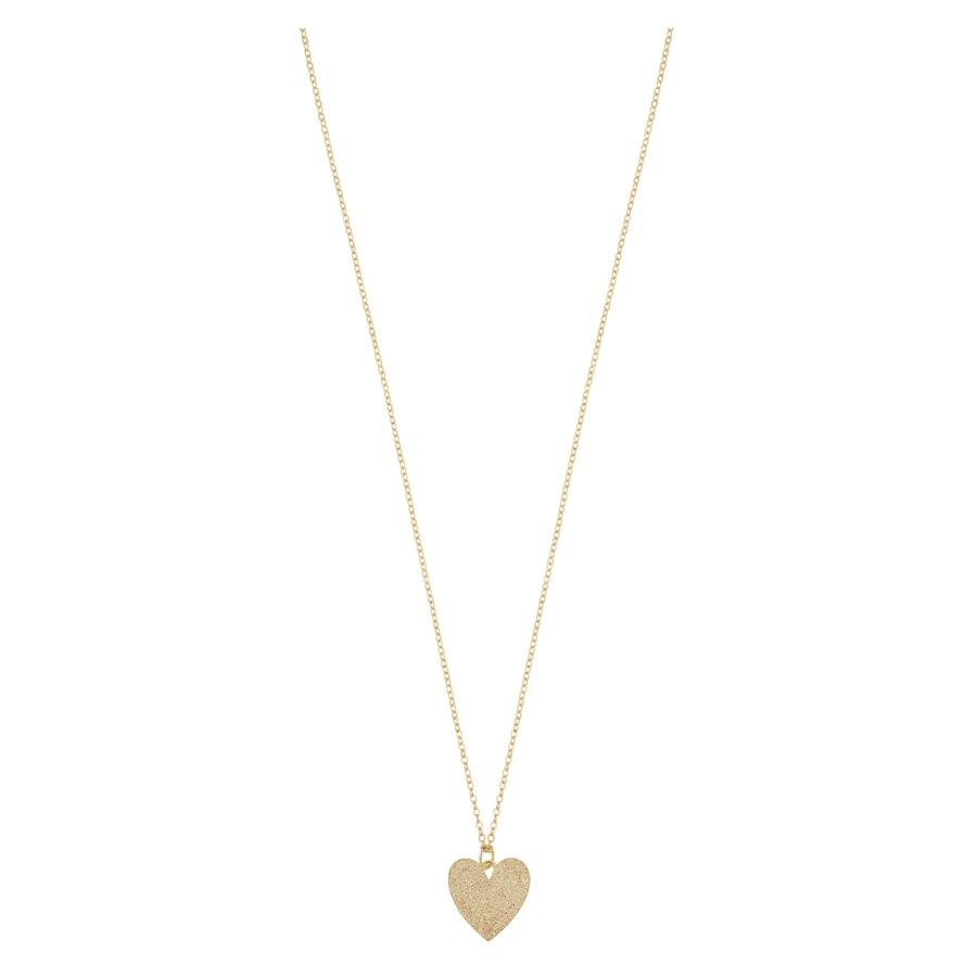 Snö of Sweden Mii Pendant Necklace 42 cm Plain Gold