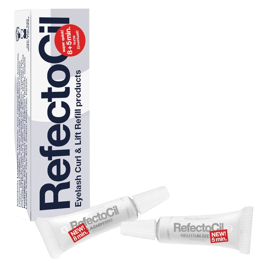 RefectoCil EyeLash Curl/Neutralizer Refill (3,5 + 3,5 ml)