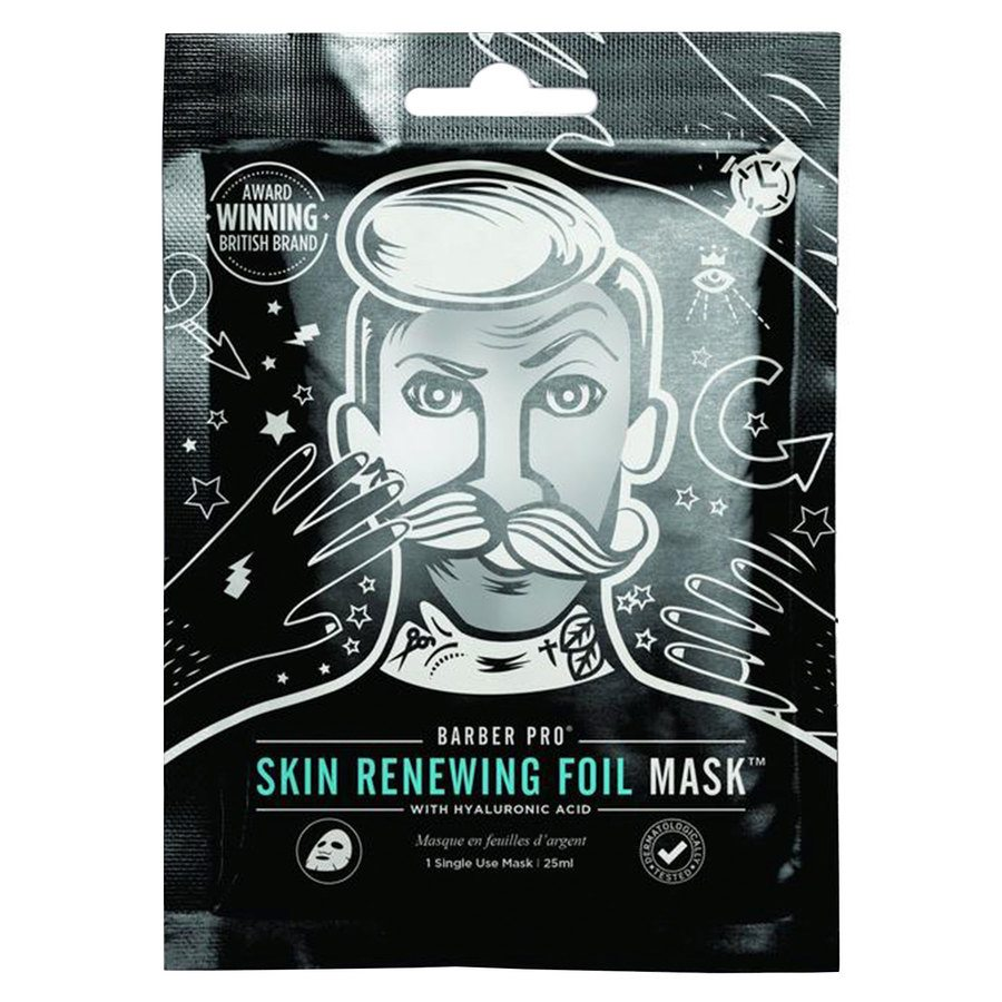 Barber Pro Skin Renewing Foil Mask 25 ml