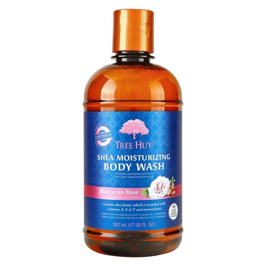 Tree Hut Shea Moisturizing Body Wash Moroccan Rose 503 ml