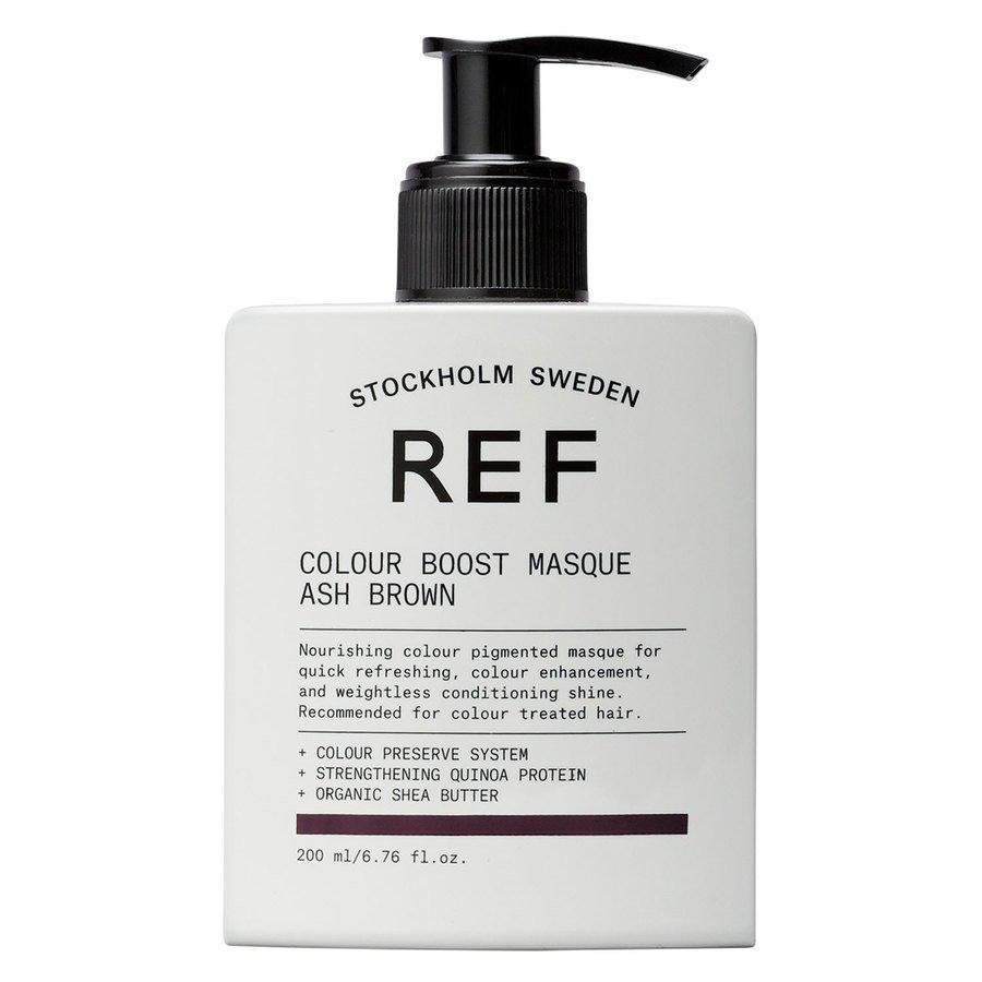 REF Color Boost Masque Ash Brown 200 ml