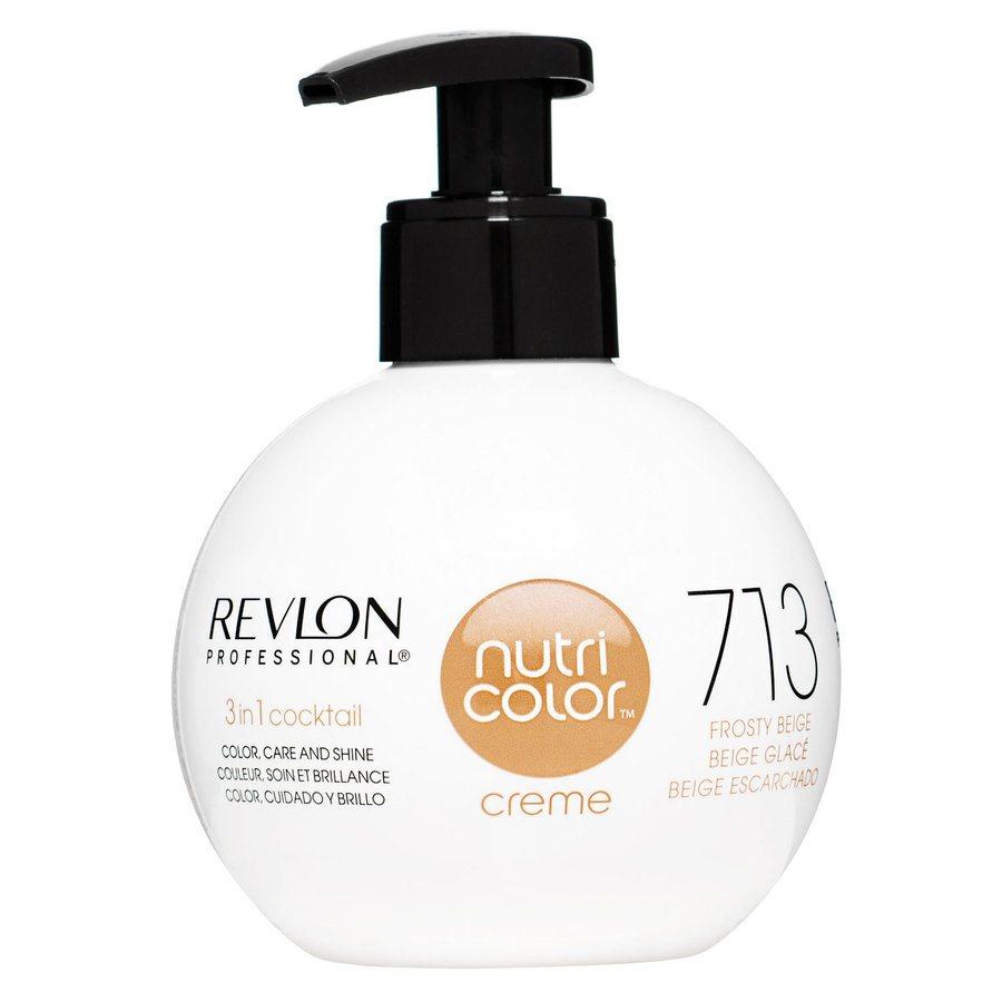 Revlon Professional Nutri Color Creme 270ml #713 Frosty Beige