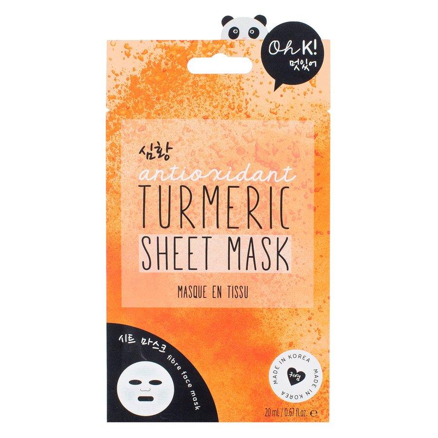Oh K! Turmeric Sheet Mask 20 ml