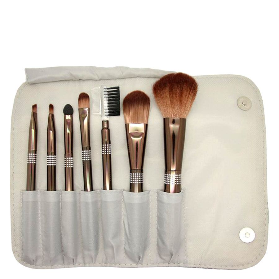 Smashit Cosmetics Shiny Silver Brush Set 7 st