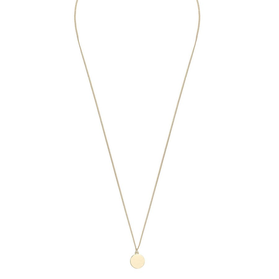 Snö of Sweden Bridget Pendant Neck Plain Gold 60 cm