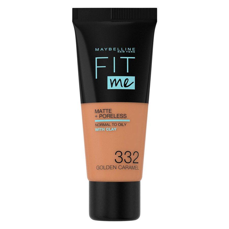 Maybelline Fit Me Matte + Poreless Foundation Golden Caramel 30 ml