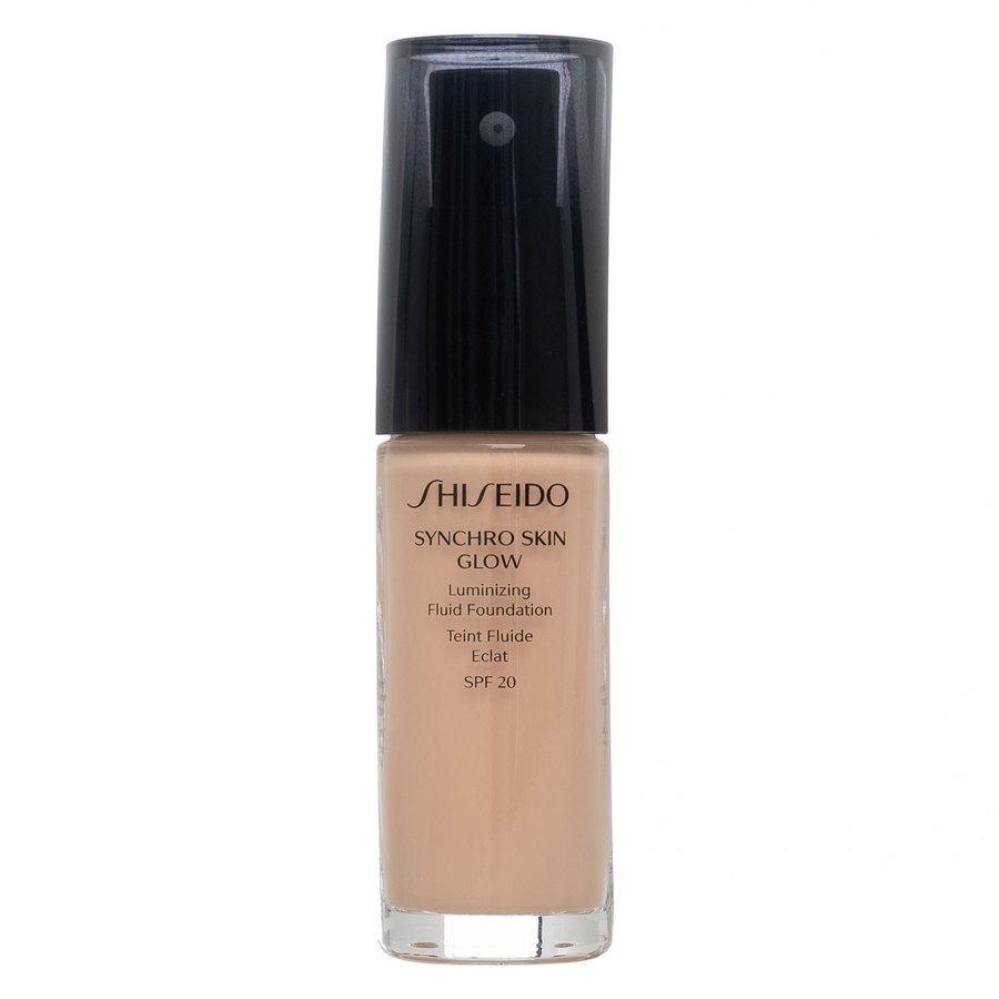 Shiseido Synchro Skin Glow Luminizing Foundation Rose #3 30 ml
