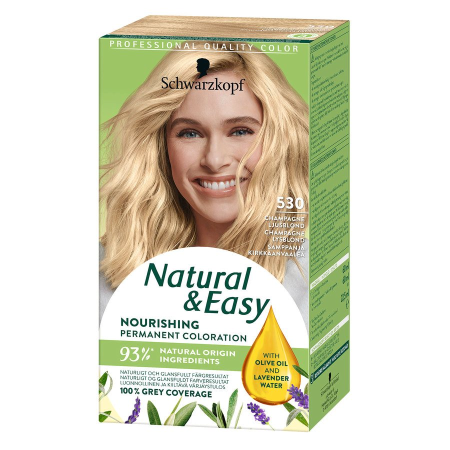 Schwarzkopf Natural & Easy 530 Champagne Light Blonde