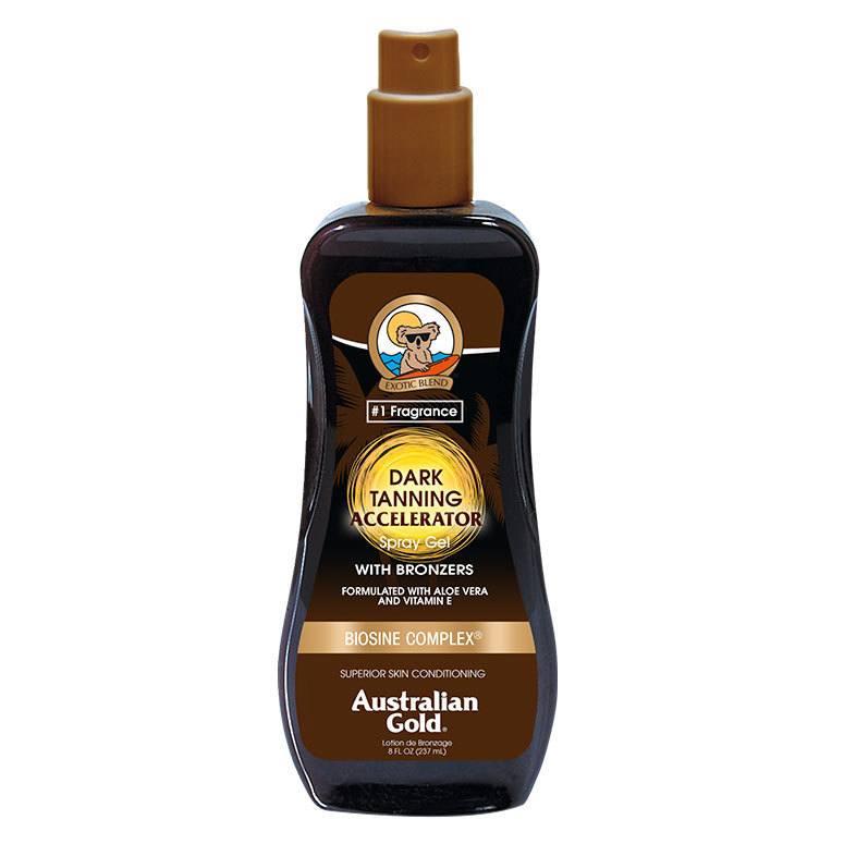 Australian Gold Dark Tanning Accelerator Spray Gel 237ml