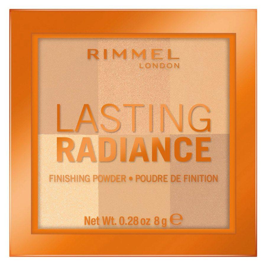 Rimmel London Lasting Radiance Powder #001 Ivory 8 g