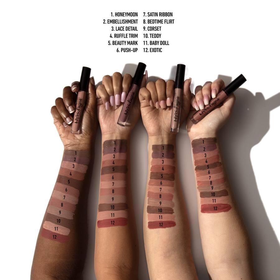 NYX Professional Makeup Lingerie Liquid Lipstick Push-Up LIPLI06