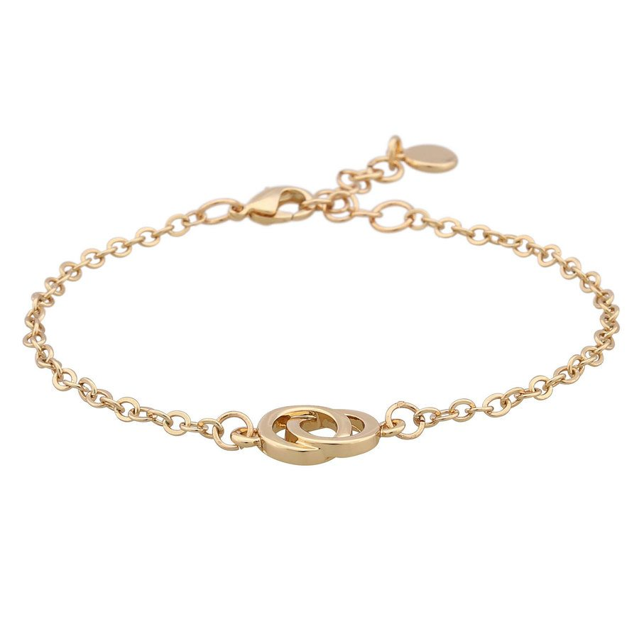 Snö of Sweden Francis Chain Bracelet Plain 16–17 cm